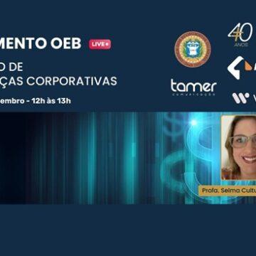 """LIVE: MOMENTO-OEB Curso de """"Finanças Corporativas"""""""